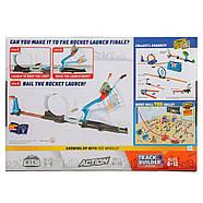 Трек Хот ВилсЗапуск ракеты Hot Wheels Track Builder Rocket Launch Challenge Playset, фото 7