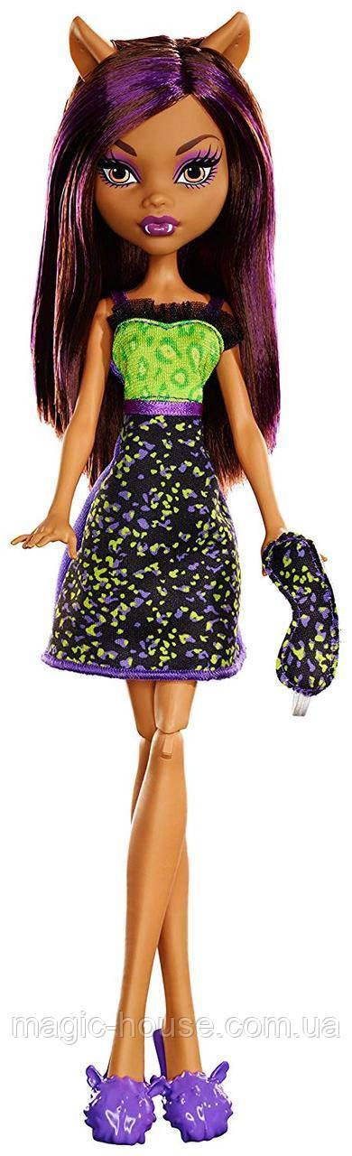 КуклаMonster High Клодин Вулф пижамная,бюджетная, оригиналот Mattel