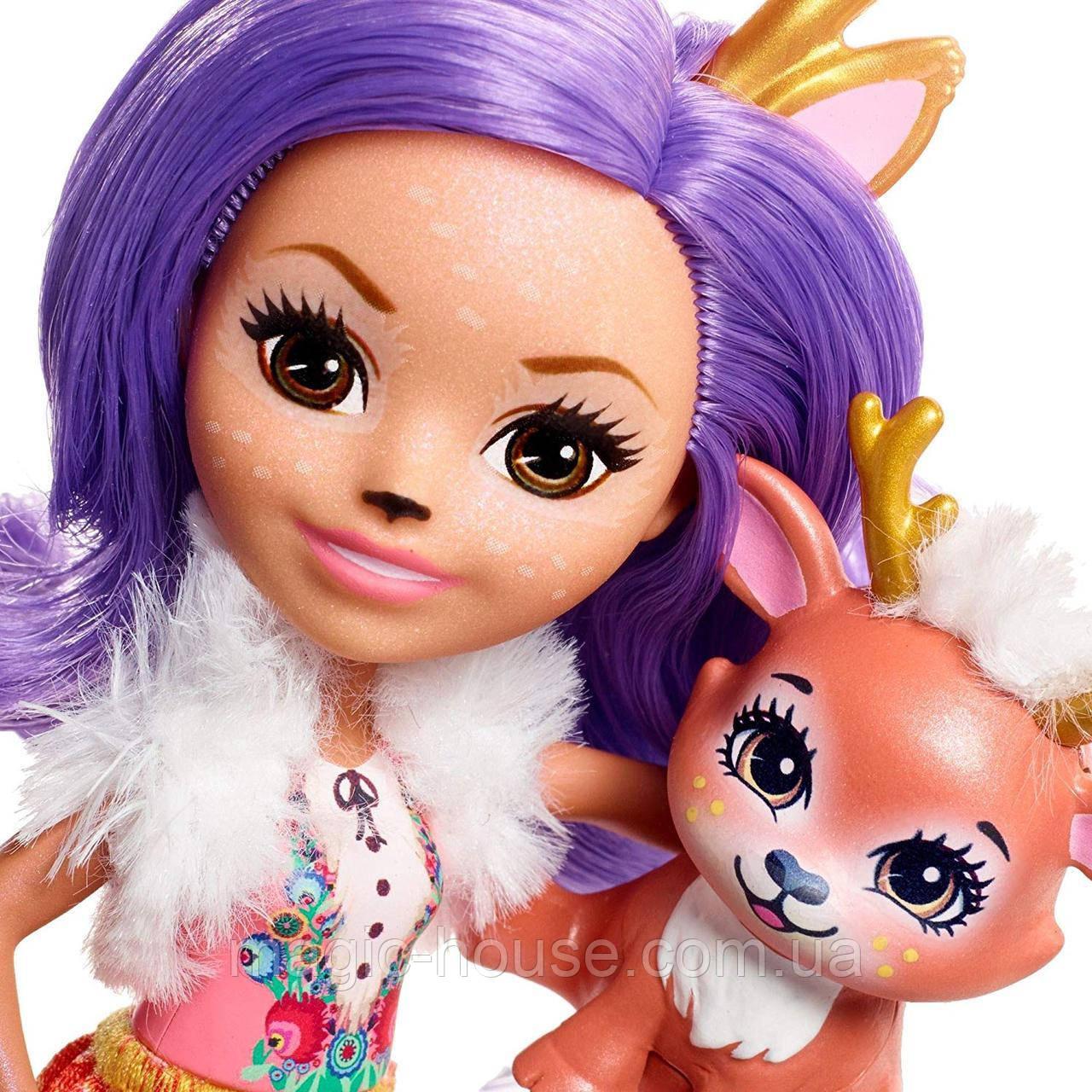 КуколкаEnchantimalsДанесса Олень и ее питомецСпринт Danessa Deer