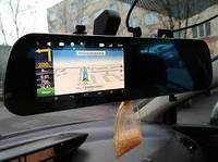 🔥 Автомобильный видеорегистратор-зеркало Eplutus D22. На 2 камеры, GPS, WiFI, 8Gb, Android.