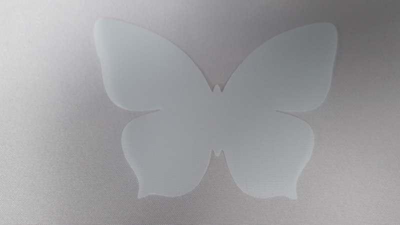 Аплікація Applique 10478 молочний 9,5 см, 50шт