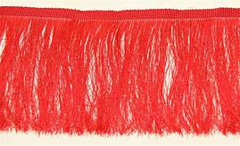 Бахрома червона 12см, м