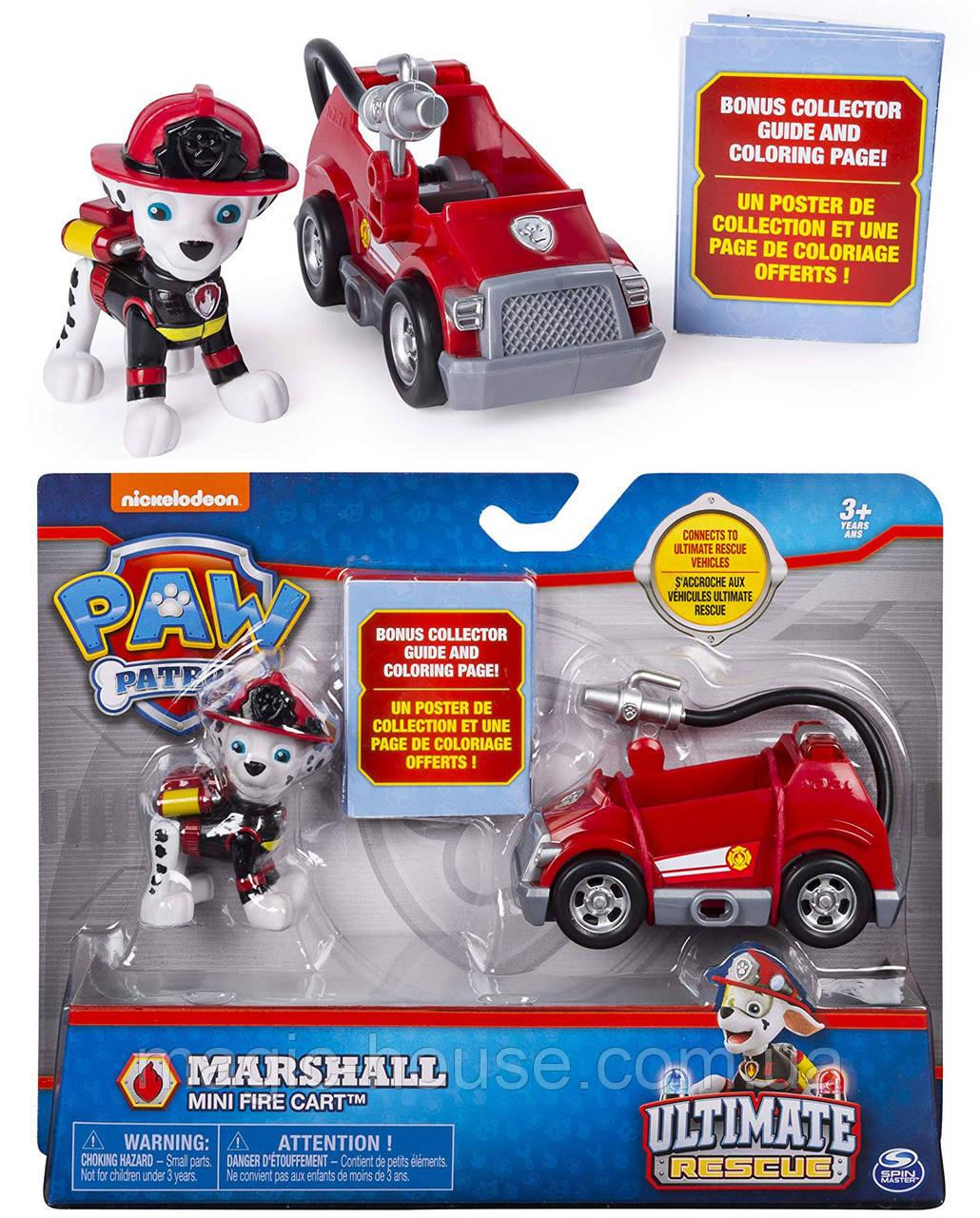 PAW Patrol Щенячий патруль Маршал мини пожарная машина ОРИГИНАЛ