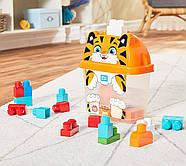 Мега Блокс Конструктор ТигрМногоцветный Mega Bloks Smiley Tiger, Multicolor, фото 3