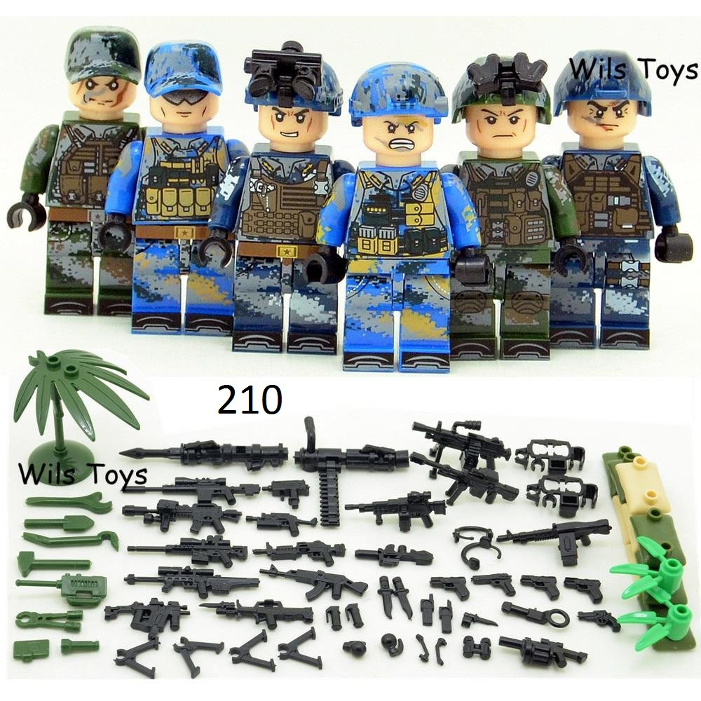 Минифигурки Военно-морские силы swat спецназ военнослужащие армия лего lego BrickArms
