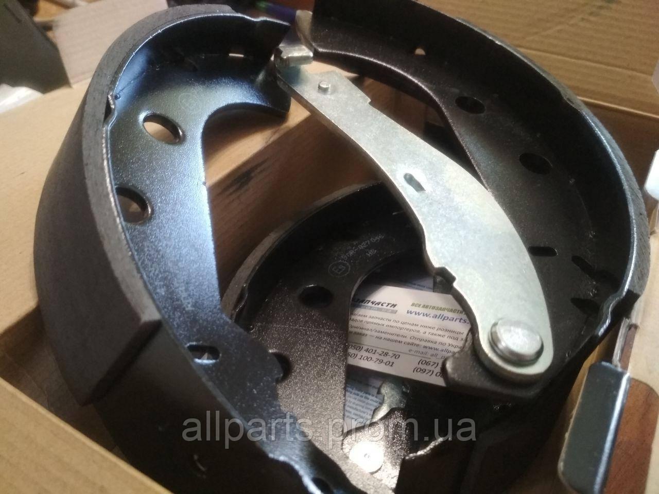 Саманд - тормозные колодки задние барабанные с АБС
