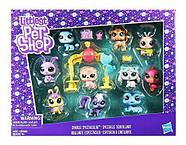 Ігровий набір Littlest Pet Shop 10 блискучих домашніх тварин Sparkle Spectacular Collection, фото 4