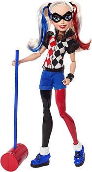 "КуклаBarbieХарли Квин DC Super Hero Girls Harley Quinn 12"" Action Doll"