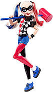 "Кукла Barbie Харли Квин DC Super Hero Girls Harley Quinn 12"" Action Doll, фото 3"