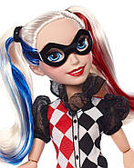 "Кукла Barbie Харли Квин DC Super Hero Girls Harley Quinn 12"" Action Doll, фото 6"