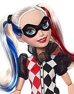 "Лялька Barbie Харлі Квін DC Super Hero Girls Harley Quinn 12"" Action Doll, фото 6"