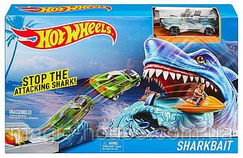Трек Хот Вилс Атака Акулы Hot Wheels Sharkbait Play