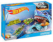 Трек Хот Вилс Атака Акулы Hot Wheels Sharkbait Play, фото 3