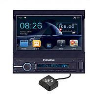 """АВТОМАГНИТОЛА 1 DIN GPS 7"""" (4 х 45 Вт) MP-7059 GPS"""