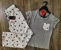 Комплект домашний футболка и штаны playboy.