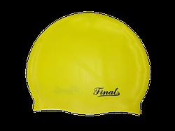 Шапочка для плавания Final PM взрослые Желтый