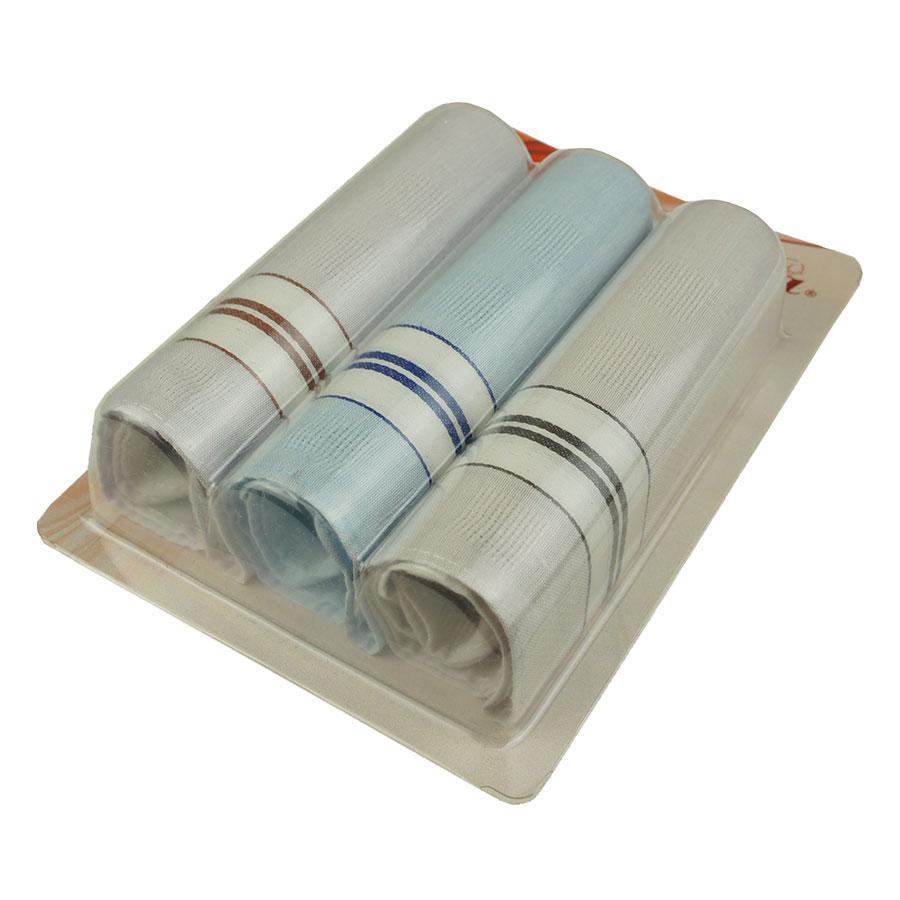 Набор светлых носовых платков  3 шт. Ega  CH-550 С