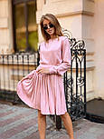 Женский вязаный костюм с юбкой плиссе (в расцветках), фото 9
