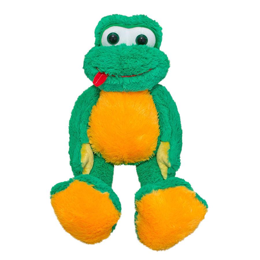 Мягкая игрушка Kronos Toys Лягушка Квакушка (zol_507)