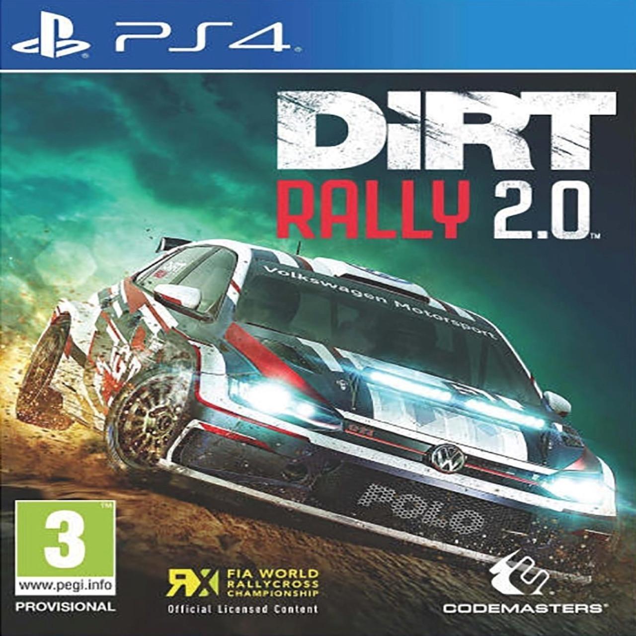 Dirt 2.0 (английская версия) PS4