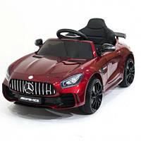 Детский электромобиль Mercedes GTR HL288 AMG, бордо лак