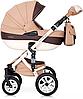 Детская универсальная коляска 2 в 1 Riko Brano Ecco 12 Caramel, фото 3