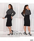 """Платье такого приталенного фасона ТМ """" Minova""""  раз.42-52, фото 5"""