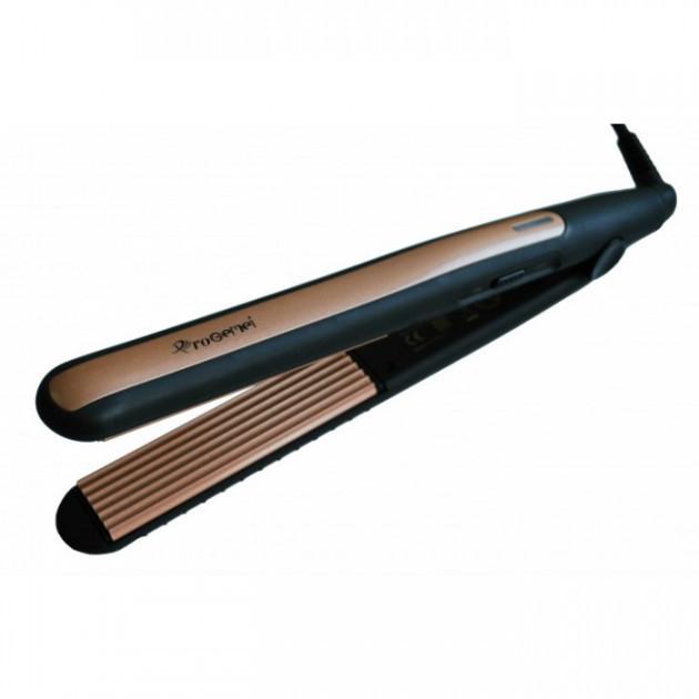 Плойка гофре для волос c турмалиновым покрытиемGemei GM-2955W