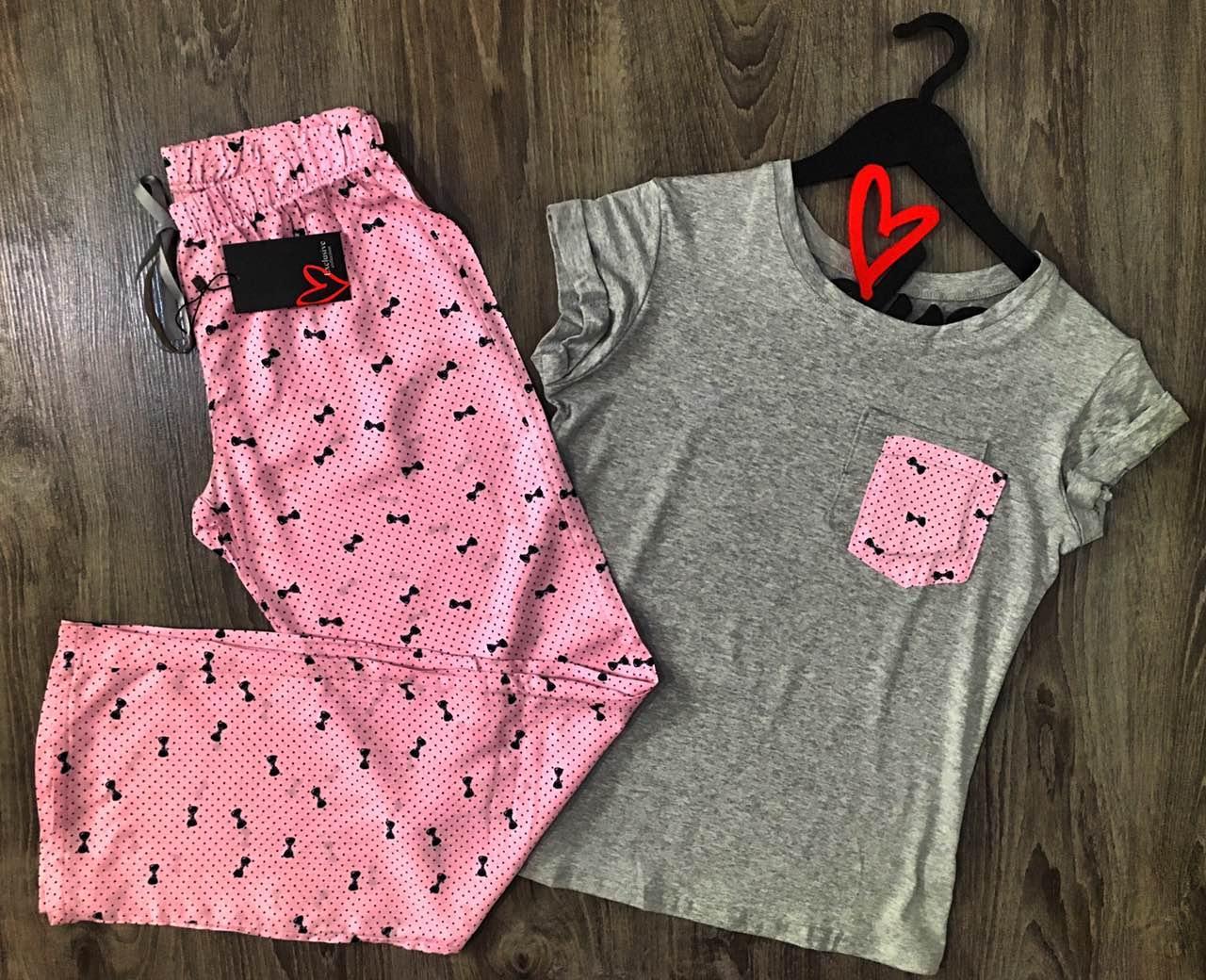 Хлопковый комплект для дома штаны+футболка.