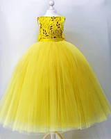 Детское пышное нарядное платье