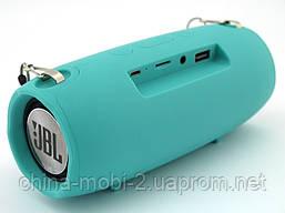 JBL XTREME mini J011 6W копия, блютуз колонка с FM MP3, мятная, фото 2