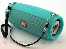 JBL XTREME mini J011 6W копия, блютуз колонка с FM MP3, мятная, фото 3