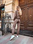 Женский вязаный костюм (в расцветках), фото 6