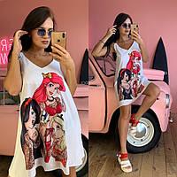 Женское яркий летний сарафан Арт 324 Принцессы