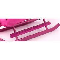 Подножки к санкам 2шт, цвет розовый