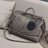 Женская сумка с заклепками, фото 1