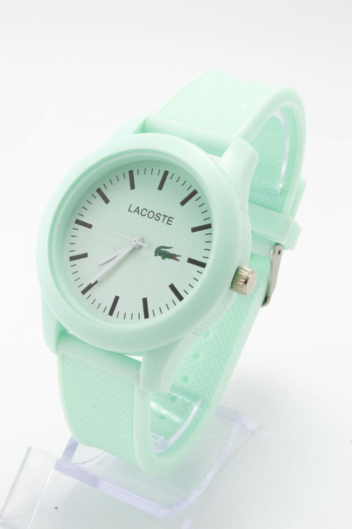 Жіночі наручні годинники Lacoste (Лакост), м'ятний колір ( код: IBW219GL )