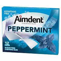 Жувальна гумка Aimdent 12паст. Peppermint М'ята 33г (1*12/12)