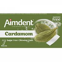 Жувальна гумка Aimdent 7паст. Cardamom Кардамон 14,5г (1*24/12)
