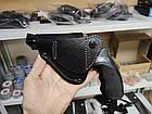 Кобура поясная кожаная для револьвера (со скобой), фото 3