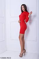 Стильное повседнедневное платье с воротником гольф  Barren