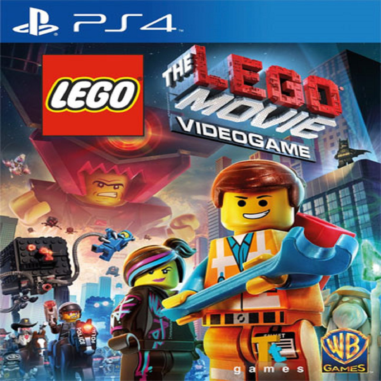 LEGO Movie Videogame RUS PS4 (NEW)
