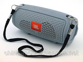 JBL xtreme G1188 mini копия, портативная колонка 3W с Bluetooth FM MP3, серая, фото 3