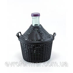 Бутыль в защитной корзине (Румыния)