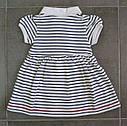 Платье-боди в бело-синюю полоску (Z&M, Турция), фото 5