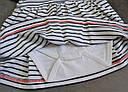 Платье-боди в бело-синюю полоску (Z&M, Турция), фото 4