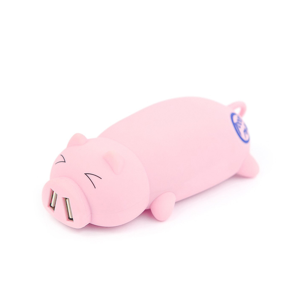 Power Bank Pink Pig 10000mАh USB 2x2A