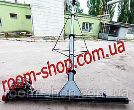 Шнековый транспортер (погрузчик) с подборщиком диаметром 133 мм длиною 8 метров, фото 3