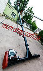 Шнековый транспортер (погрузчик) с подборщиком диаметром 133 мм длиною 8 метров, фото 2