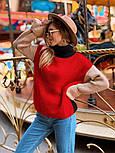 Стильный комбинированный  свитер  (в расцветках), фото 10